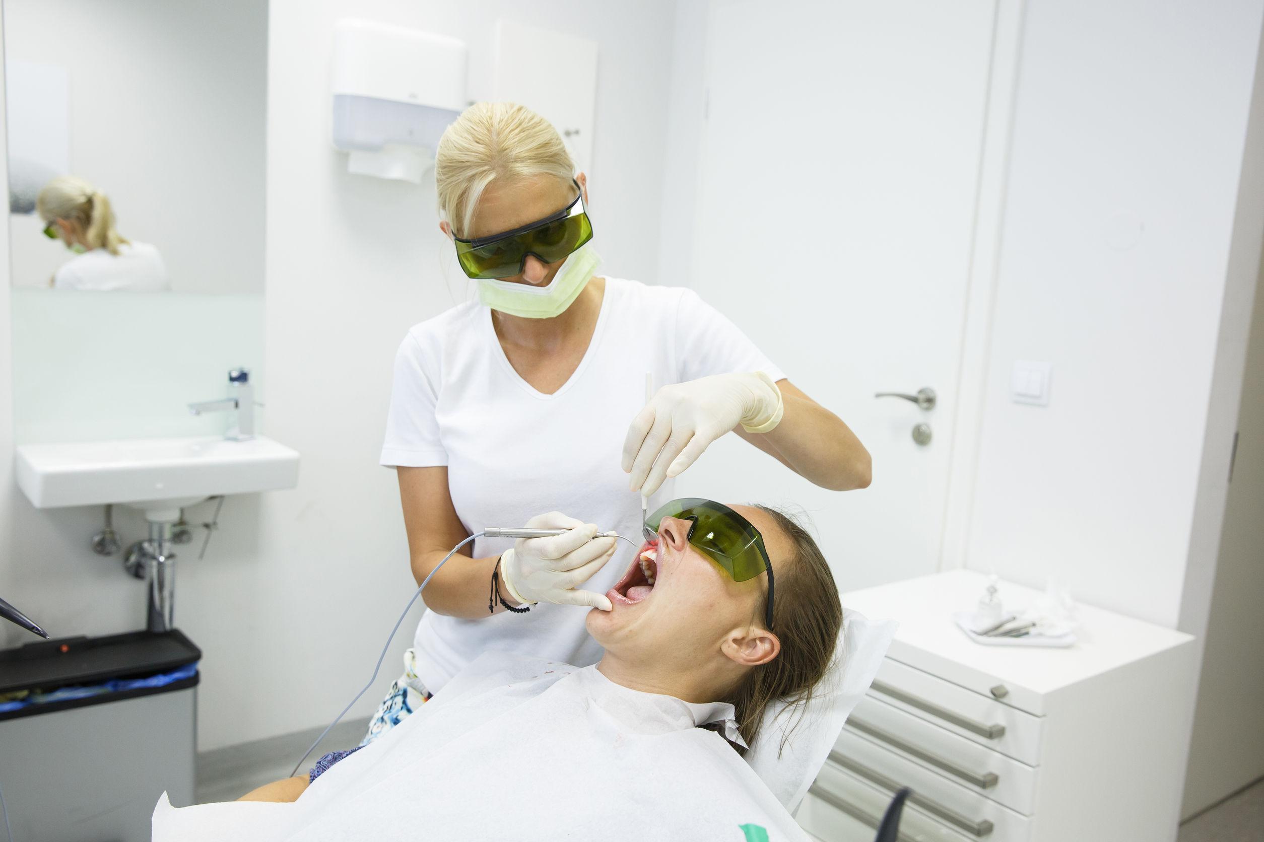 diode laser for gum disease
